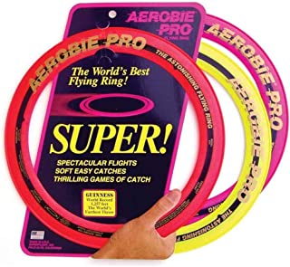 product image for Aerobie Pro Flying Ring, Soft Rubber Edged, 13 Inch Diameter (3 Pack)