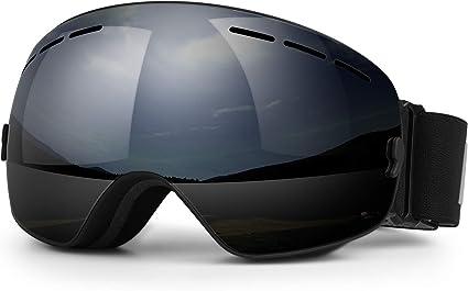US Mens Women Ski Goggles Professional Snowboard Snowmobile Anti Fog Sunglasses