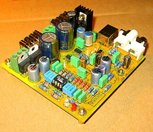BOOOLE HIFI stereo DAC1 PCM2706 + CS4398 + AD827 USB DAC decoding coaxial