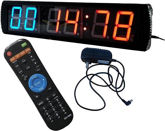caracteres reloj digital