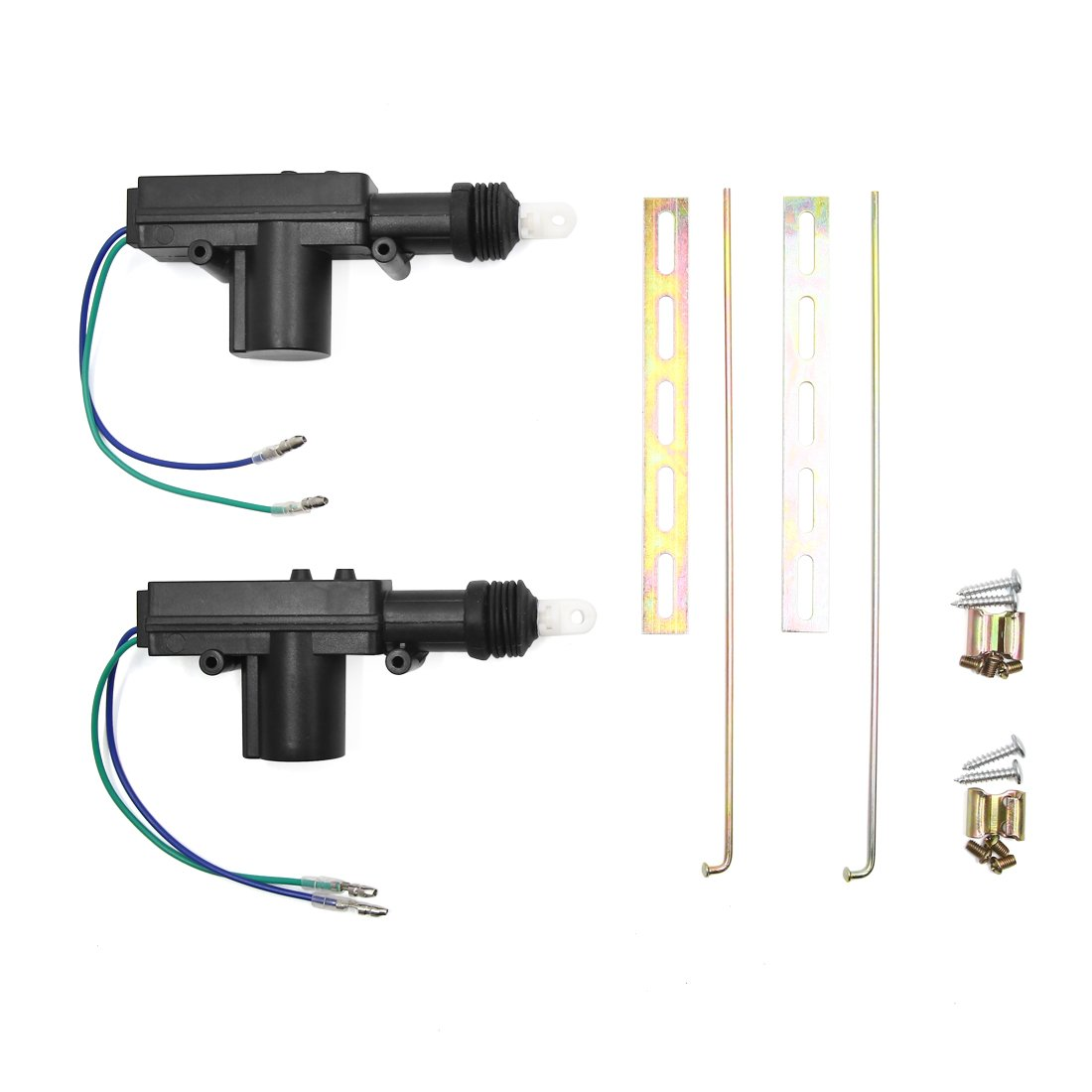 Uxcell A18031600ux0162 Universal Car Power Door Actuator Lock Wiring Diagram Kit For Central Locking System 2 Wire Dc 12v Pack Of Automotive