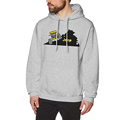 5c62c54240ca Amazon.com  Jeep American Flag Logo Men s Pullover Hoodie Hooded Sweatshirt   Clothing