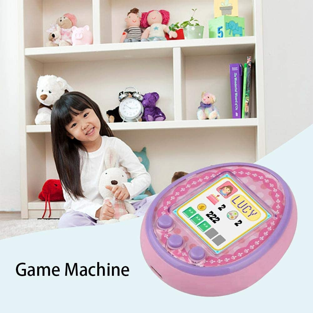 U-smile Electronic Pet Game Machine,Kids Toys Gifts Color Screen Digital Virtual Pet Game Machine Cyber Electronic Pet Game Toy Xmas Socking Filler Gift for Kid Child