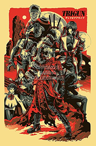CGC Huge Poster - Trigun Anime Poster Toraigan Badlands Rumble Maximum- ANI177 (24