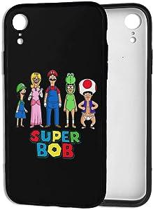 Bob Burgers iPhone XR Case, Cute Design Soft & Flexible TPU Shockproof Protective Cover Case