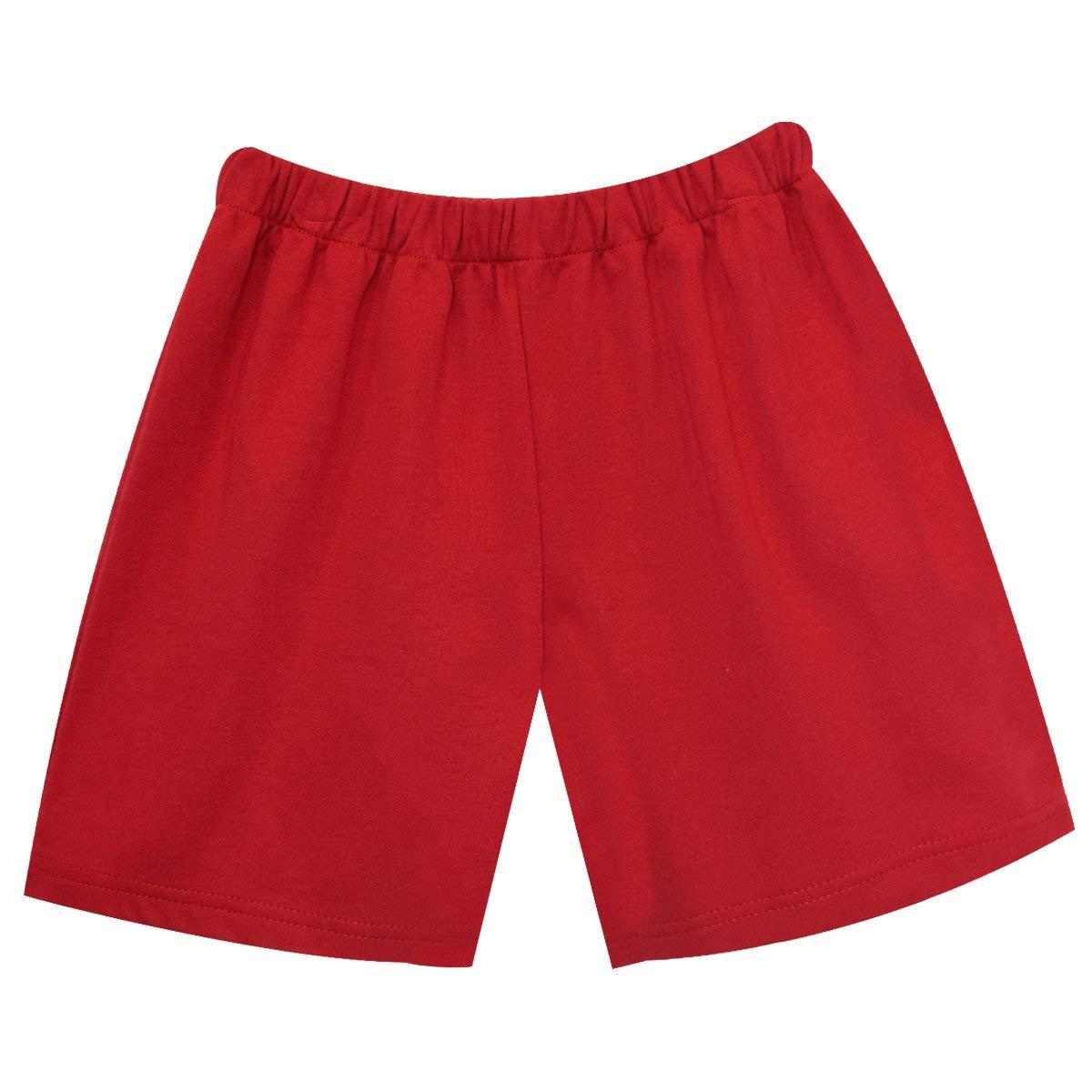 Red Knit Boys Pull On Short