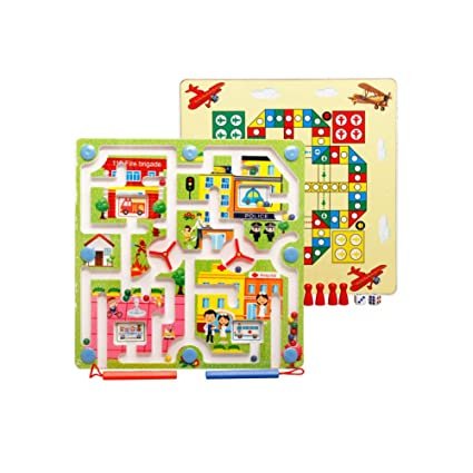 Amazon.com: Kit de juego de pizarra magnética de arce con ...