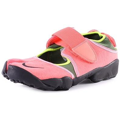 release date: cbdbd 840a3 Nike Air RIFT Baskets de Course pour Hommes 308662 - Lave Chaude Noir-Volt