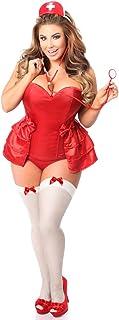 Daisy Corsets Womenu0027s Plus-Size Lavish 4 Piece Naughty Nurse Corset Costume  sc 1 st  Amazon.com & Amazon.com: Daisy Corsets Womenu0027s Top Drawer Sequin Fairy Corset ...