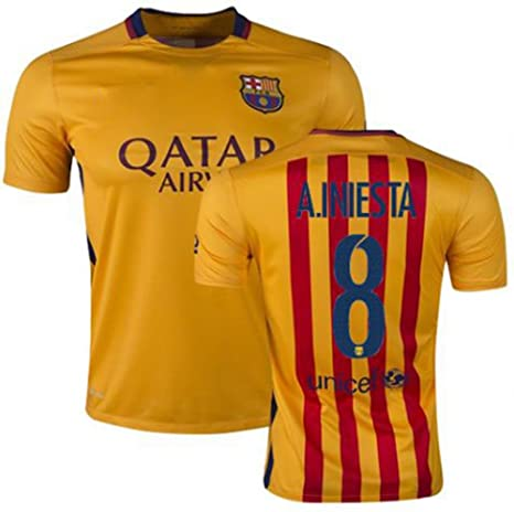 5c2b810ee0a Fc Barcelona Andres Iniesta Mens Jersey - Querciacb