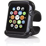 SATECHI Supporto Compatibile con Apple Watch Serie 1, 2, 2 e 4 per Volante Auto e Manubrio Moto/Bici  (42 mm)