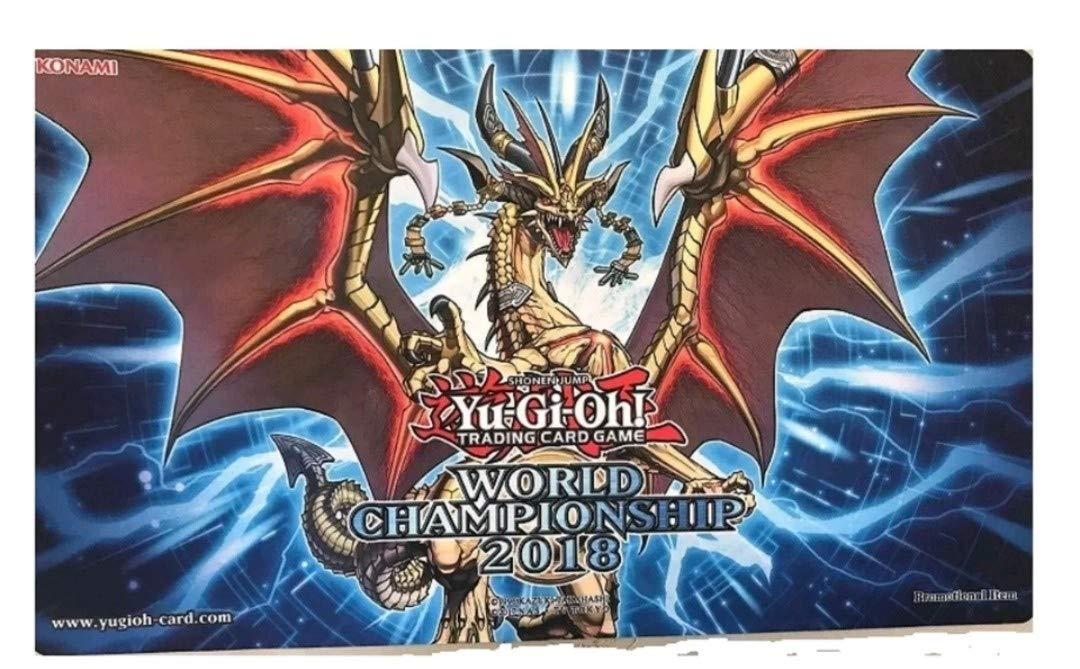 遊戯王 世界大会 プレイマット Sanctity of Dragon WCS2018 公式 正規品   B07GD6KN3S