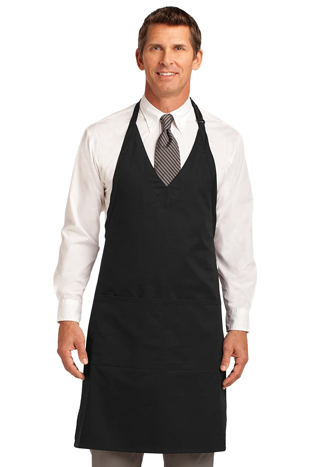 Port Authority Men's Easy Care Tuxedo Apron with Stain Release 900143