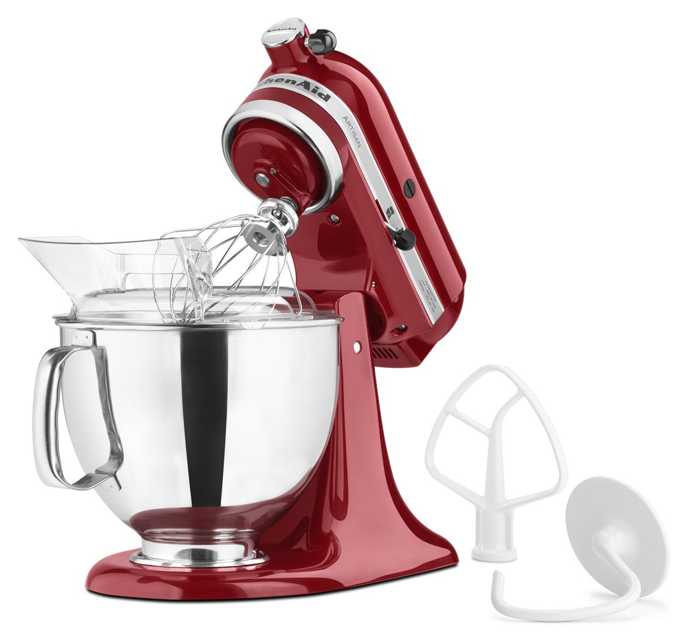 kitchenaid mixer with accessories