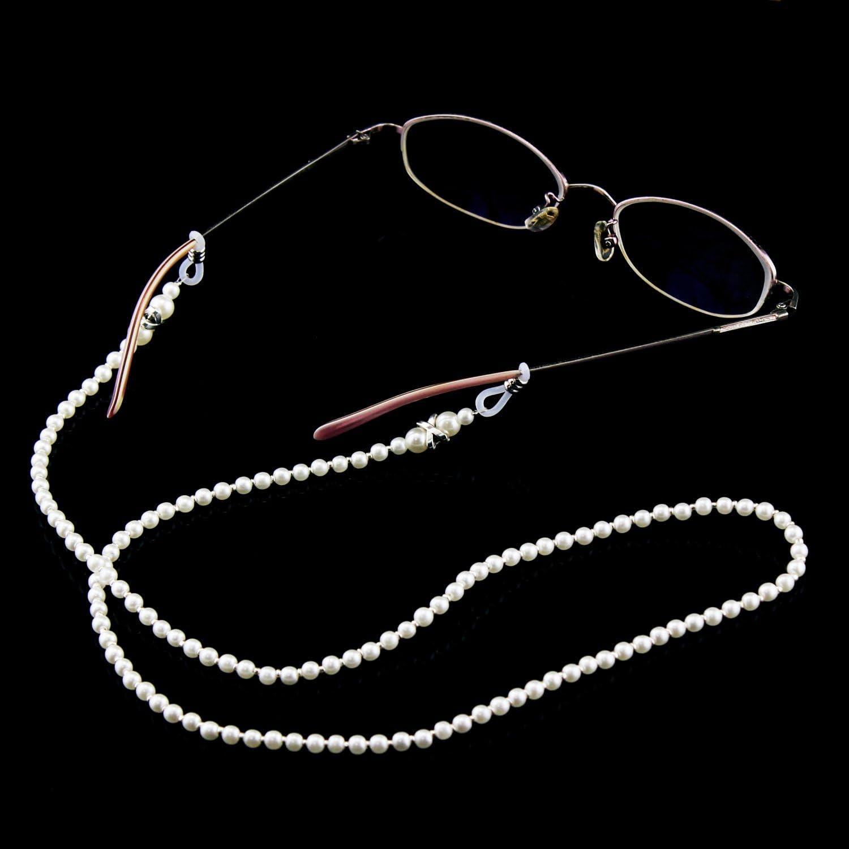 Aussel Eyeglass Chain Stainless Steel Sunglasses Cord Eyewear Retainer Rope Neck Strap Holder Size 1