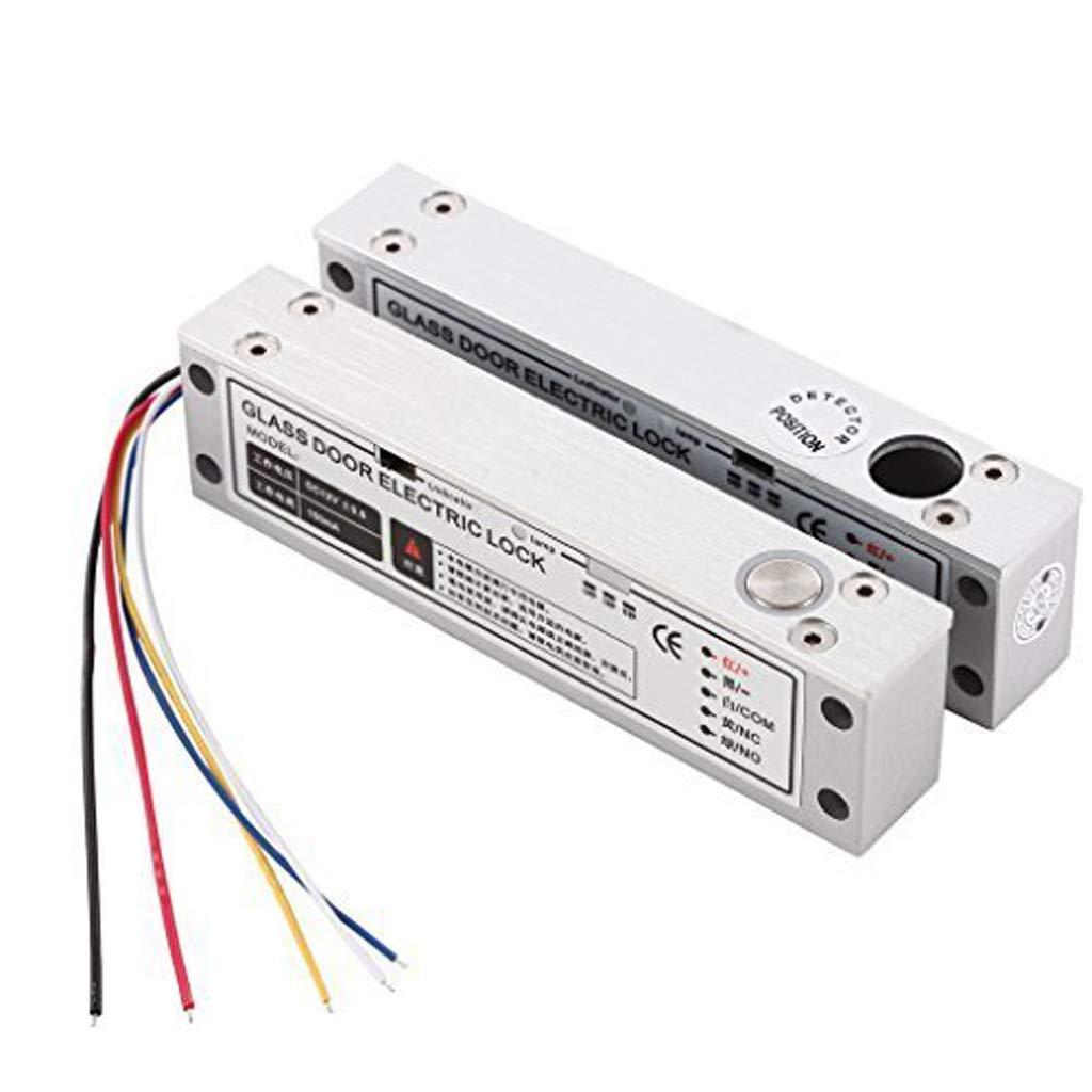 UHPPOTE Serrure Prise à Boulon Electrique Robuste avec W/ Signal de Rétroaction Fail Safe pour la Porte Etroite UT0521-500I
