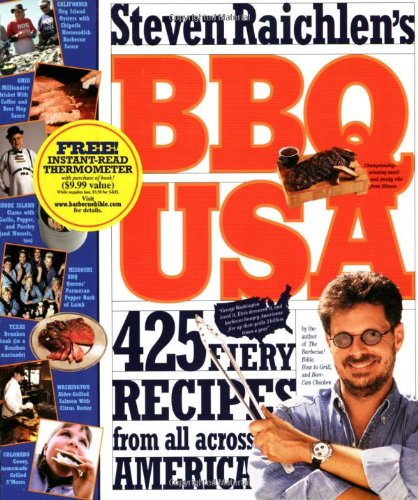 Download BBQ USA: 425 Fiery Recipes from All Across America PDF