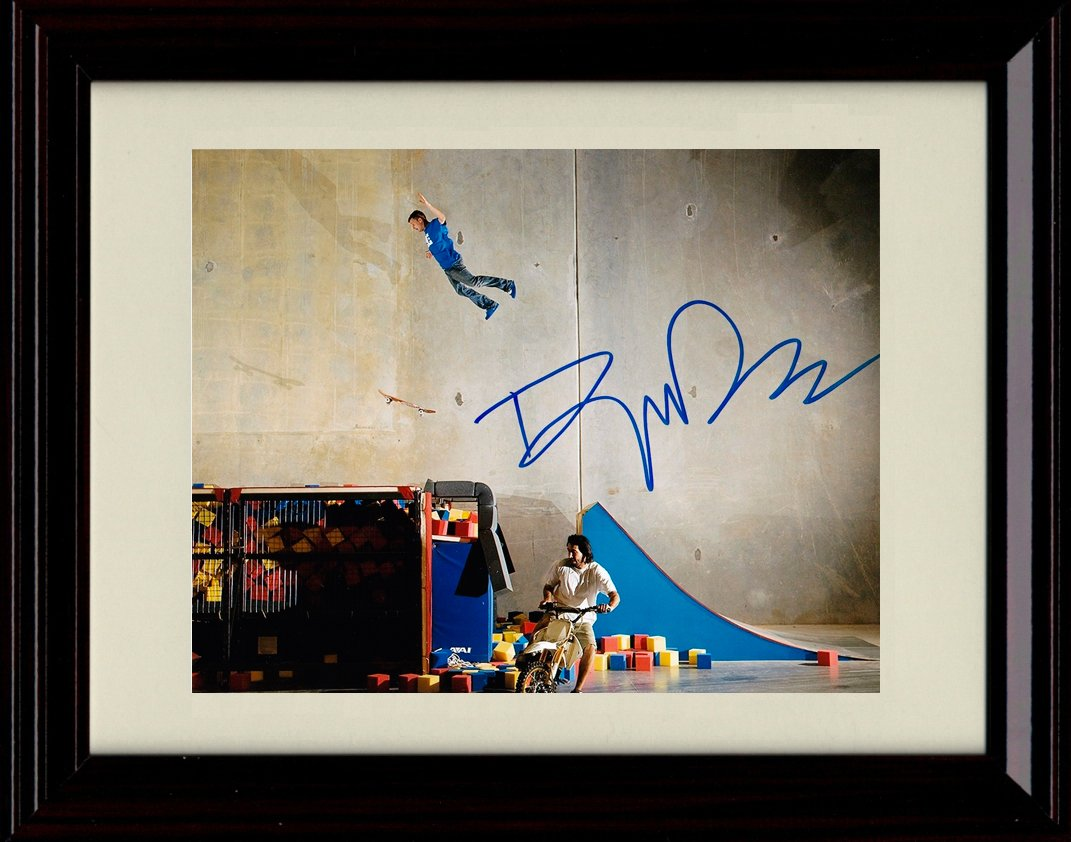 Framed Rob Dyrdek Autograph Replica Print - Extreme Skateboard! by Framed Print - Misc