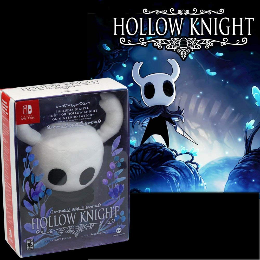 Hollow Knight (Digital Download Code) with Knight Plush