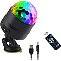 Upgrade Full Colours Disco Ball Light dj Light Show Light RGBW led Mini Party Light Christmas Decoration Light Gift…