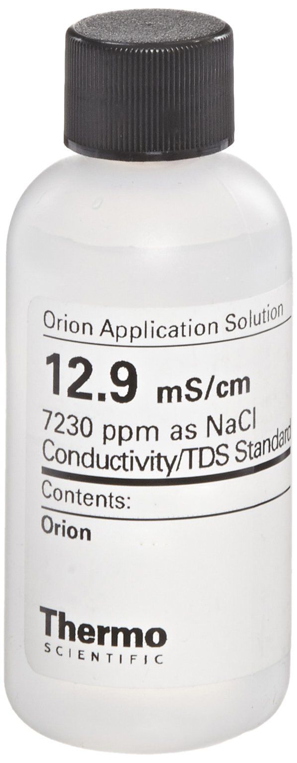 Orion 12.9mS/cm Conductivity Standard Bottles, 5 x 60ml Capacity (Pack of 5)