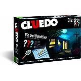 CLUEDO Die drei Fragezeichen - das beliebte Detektiv-Brettspiel | Gesellschaftsspiel | Familienspiel | Brettspielklassiker |