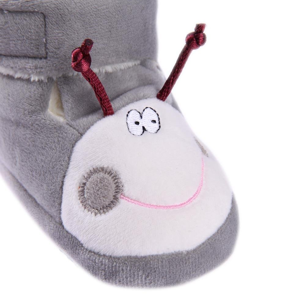amazingdeal Breathable Baby Infant Prewalker Shoes Winter Soft Bottom Classic Boots
