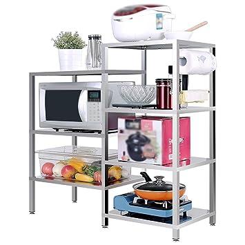 QFF Cocina de acero inoxidable estante/estante/horno ...