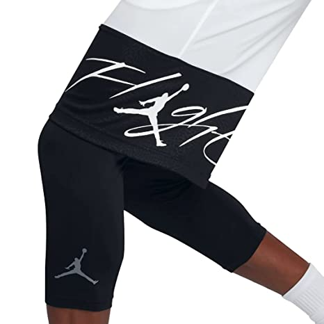 31cc9a8f772fdf Buy Nike Mens Jordan GX1 Basketball Shorts White Black 861463-100 Size  Large Online at Low Prices in India - Amazon.in