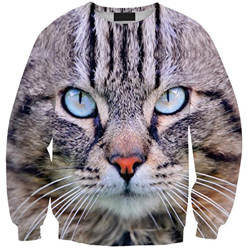 Cat YICHUN Sweatshirts Shirt Girls Women Leisure Tops 8 Thin T qW8TqSwr