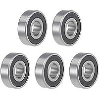 Sourcingmap 6203-16-2RS - Rodamientos de bolas con ranura