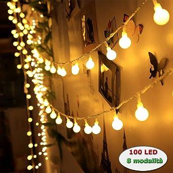 3276adcc359 Innoo Tech - Cadena de Luces Guirnalda de 10m con 100 LED Bombillas  Decoración Interior