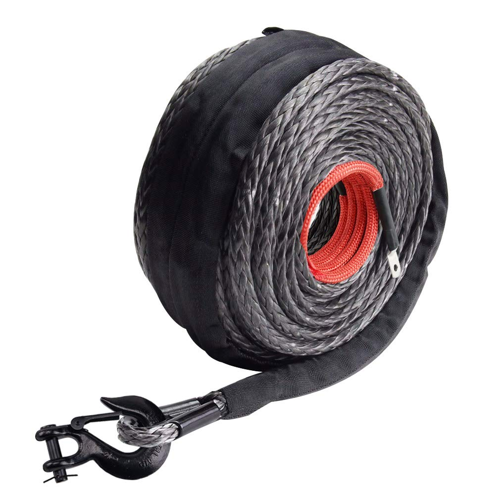 EAZ LIFT Multi-Gauge 7-Conductor Trailer Cable 64673 25ft 2-10, 1-12, 4-14 Guage Wires Included