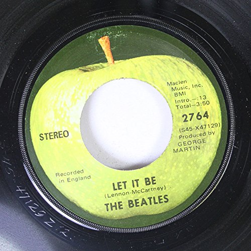 - THE BEATLES 45 RPM LET IT BE / YOU KNOW MY NAME (LOOK UP MY NUMBER)