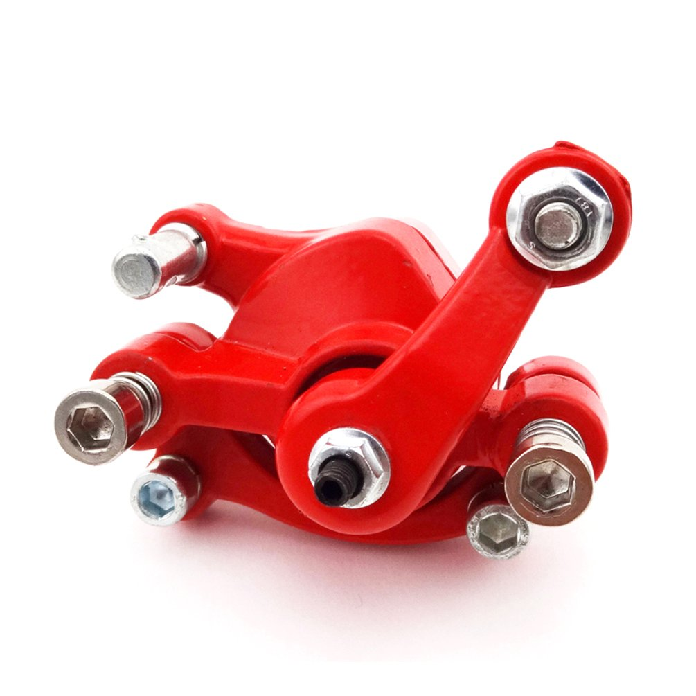 XLJOY Red Rear Disc Brake Caliper for 97cc 2.8HP DB30 Baja Doodle Bug Mini Dirt Bike