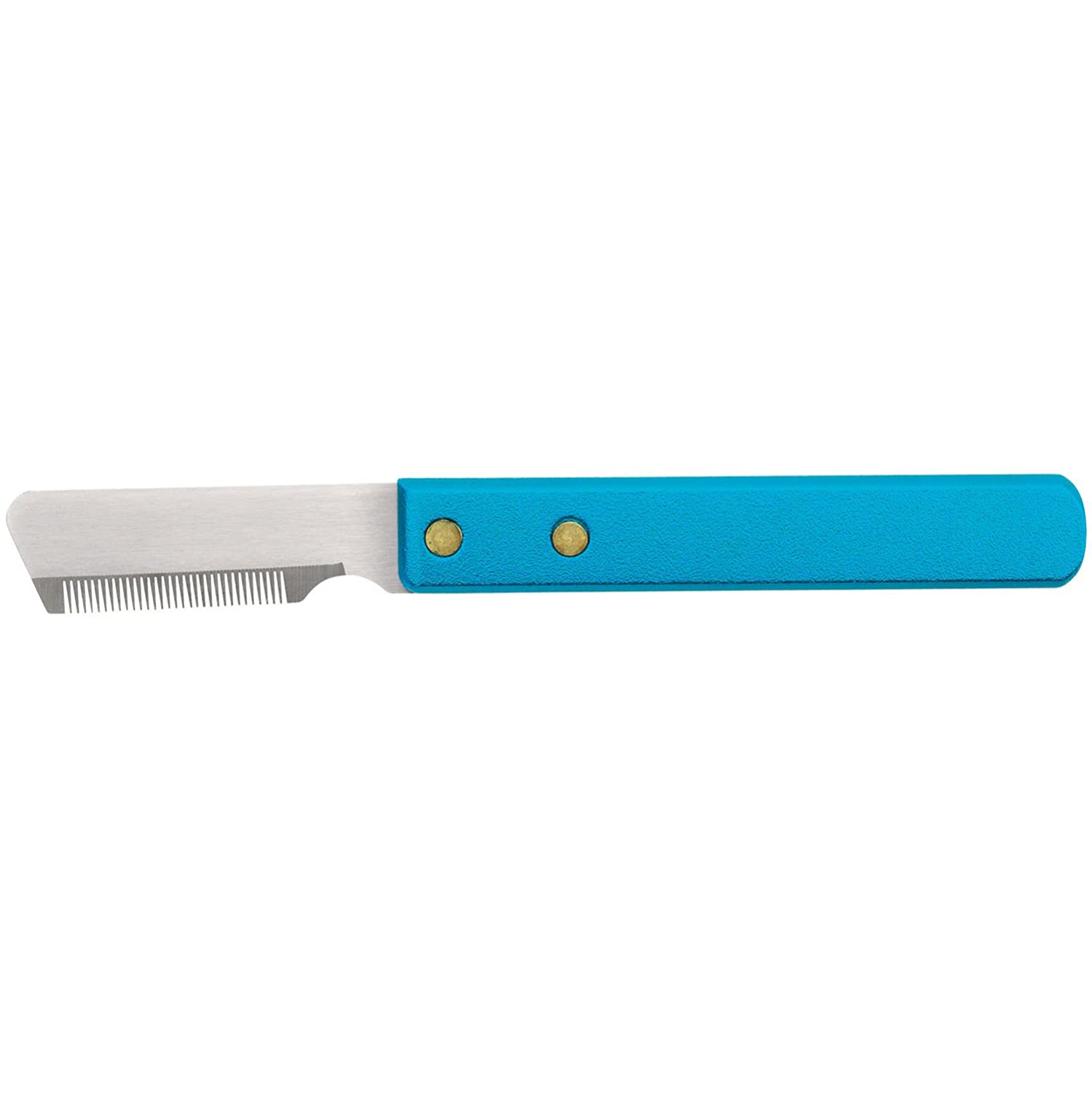 Fine Master Grooming Tools 6-3//4-Inch Stainless Steel Pet Stripper Knive