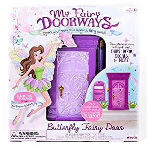 My Fairy Doorways Butterfly Fairy Door By Horizon Group Usa Toys Games
