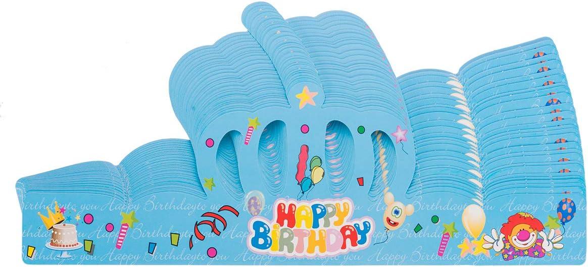 Amazon.com: Flytt - 30 coronas de cumpleaños, gorro de ...