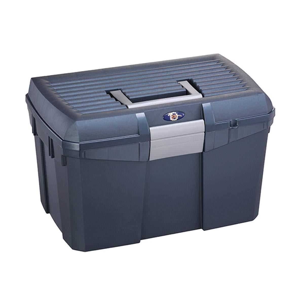 Plastica Panaro Tack Box (L) (Midnight Blue)