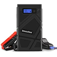 $45 » Imazing Portable Car Jump Starter 600A Peak 8000mAH (Up to 3.5L Gas or 2L Diesel Engine)…