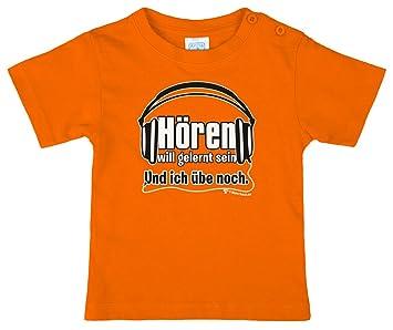 Lustiges Kinder T Shirt Mit Spruch Hören Will Gelernt Sein Und Ich