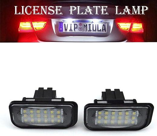 Led Kennzeichenbeleuchtung 2 Pcs Led Kennzeichenbeleuchtung Gilt Für Einige Chrysler Auto
