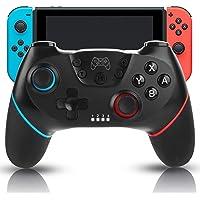 Mando inalambrico nintendo switch,Sendowtek mando nintendo switch Joy Con con función Turbo Vibración dual Compatible…
