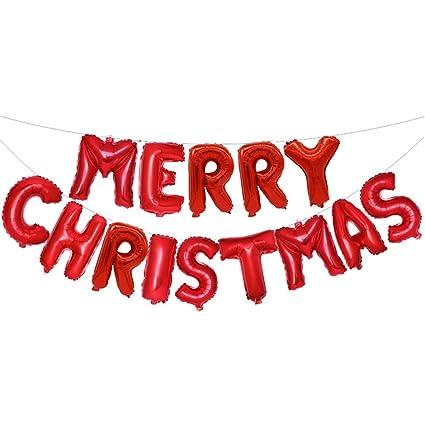 Christmas Lettering.Amazon Com Christmas Foil Balloons Merry Christmas Letters
