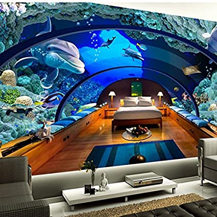Mbwlkj Wallpaper Any Size 3d Hd Wallpaper Photo Underwater