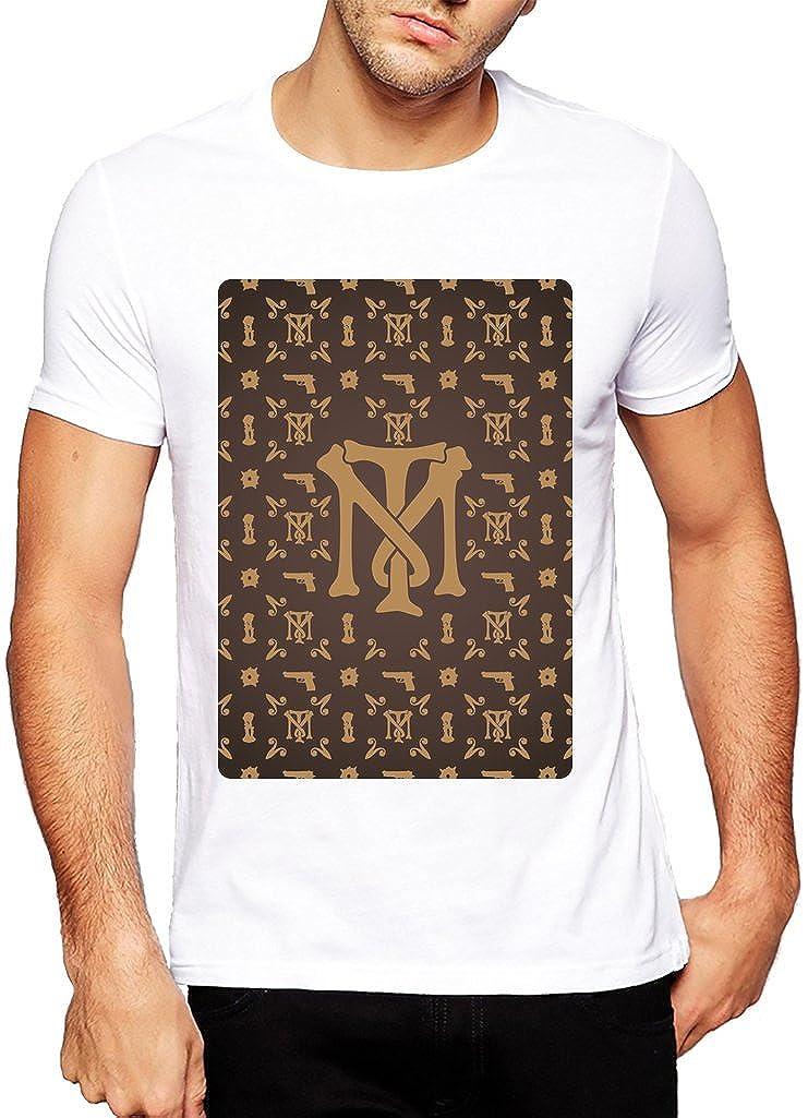 2d34549a Louis Vuitton Pattern Inspired Tony Montana Logo - XX-Large Mens T-Shirt:  Amazon.co.uk: Clothing