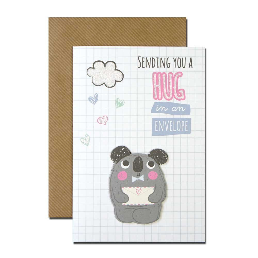 Amazon com: Friendship Open - Koala Holding An Envelope