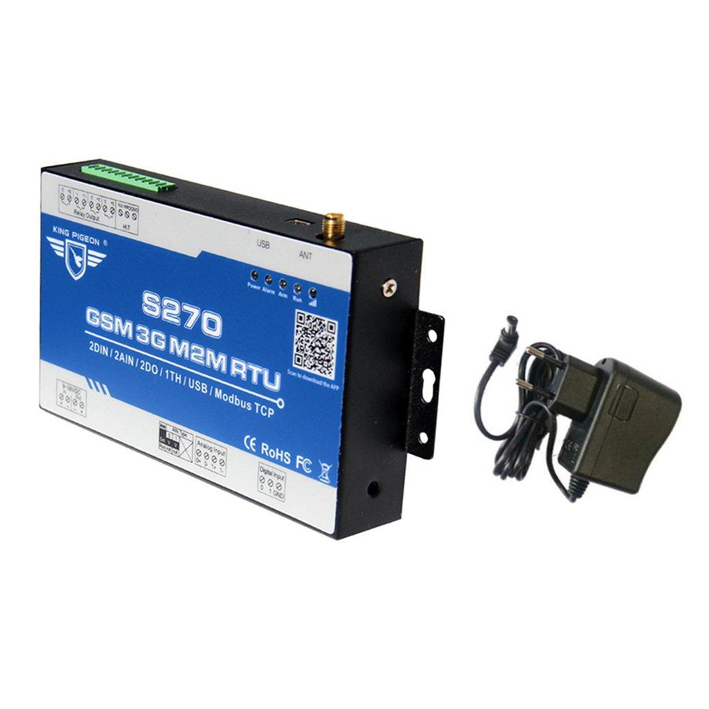 MagiDeal S270 Gsm M2m Rtu Fernbedienung Monitor Alarmanlage Sms Gprs App Gesteuert Eu Stecker