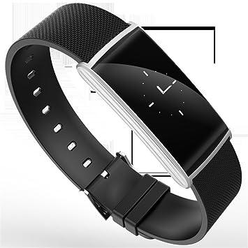 SLGJYY Smart Pulsera Corazón Frecuencia Tensiómetro de oxígeno Dormir Supervisión - Botes de paso Bluetooth brazalete deportivo: Amazon.es: Deportes y aire ...