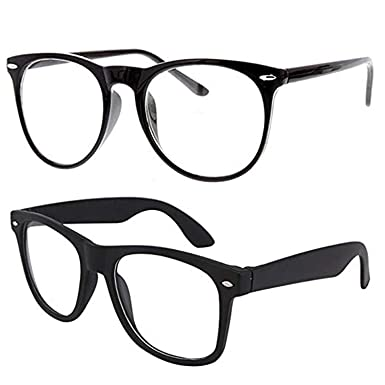 fc634b8af8c2 Younky Full Rim Cateye   Wayfarer Unisex Fashion Spectacles Eyeglasses Clear  Lens Frame (CAT-WAY-001)  Amazon.in  Clothing   Accessories
